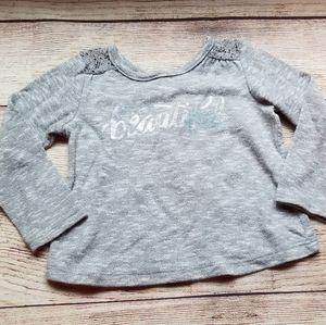 Childrens Place 'Beautiful' long sleeve sweater